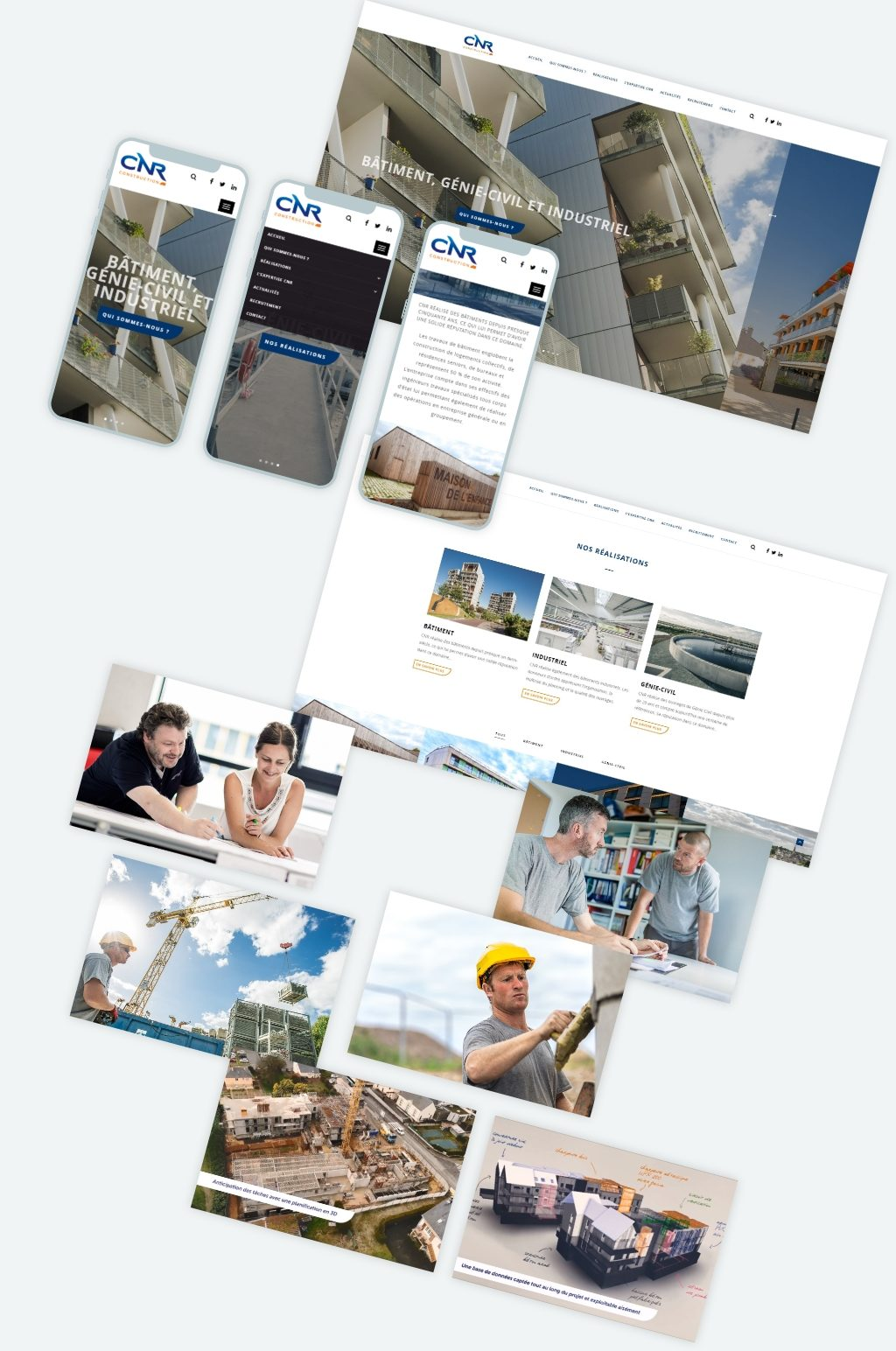 Addviso - Site CNR Construction